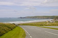 Free Newgale Bay Stock Photography - 19552372