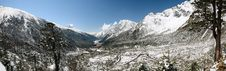 Free Yumthang Valley Panorama Stock Image - 19552571