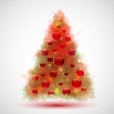 Free Christmas Tree Royalty Free Stock Photo - 19552885
