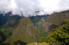 Free Rainbow At Machu Picchu Sightseeing Royalty Free Stock Images - 19553439