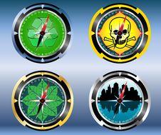 Free Set Compass Stock Photos - 19553453
