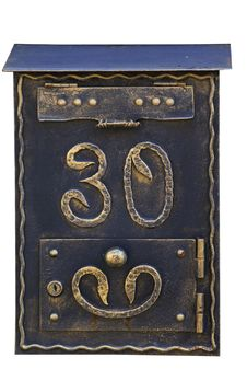 Free Vintage Mail Box Royalty Free Stock Images - 19553499