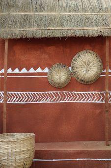 Tribal Hut Design Royalty Free Stock Image