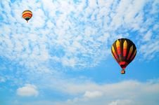 Free Balloon With Blue Sky Stock Photography - 19554402