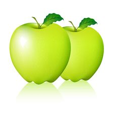 Free Green Apple Royalty Free Stock Images - 19554439