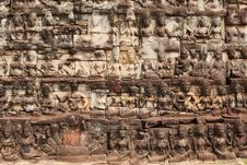 Free Relief Angkor Stock Photo - 19554680