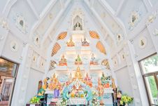 Buddha Statue, Nakhon Sawan Province, Thailand. Royalty Free Stock Image
