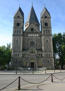 Free Temple Neuf Metz Stock Photos - 19556633