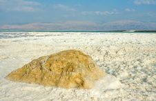 Free Strange Forms And Colors Of Salt, Dead Sea Stock Photo - 19557110