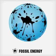 Free Recycle Symbol, Fossil Energy Royalty Free Stock Images - 19557679