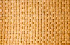 Free Brown Thai Wooden Wicker Pattern Close Up Stock Images - 19558644