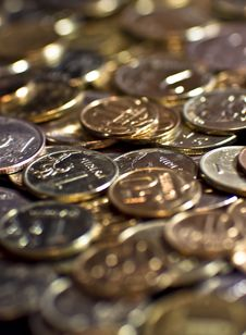 Free Coins Stock Photography - 19559182
