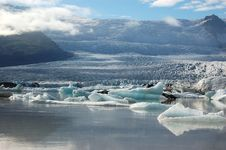 Free Glaciers And Icebergs, Iceland Royalty Free Stock Images - 19559789