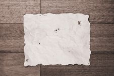 Free Burnt Paper Notice Board Royalty Free Stock Photos - 19559808