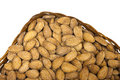 Free Almonds In Pottle Royalty Free Stock Photos - 19566928