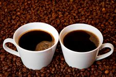 Free Coffee Time Royalty Free Stock Photo - 19560445