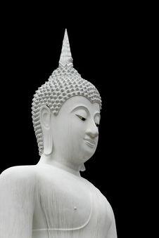 Closeup Of Buddha Statue Stock Photos