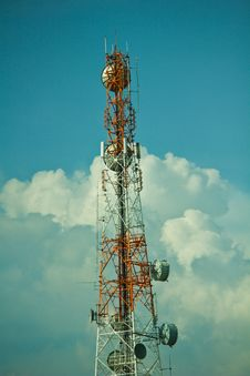 Free Telephone Transmission Towers. Stock Photos - 19562003