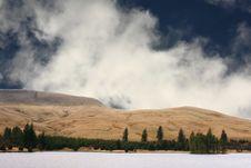 Free Winter Reservoir Stock Photo - 19562010