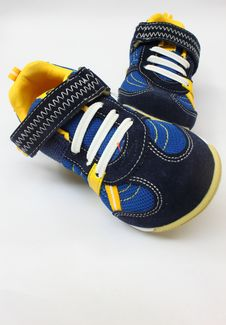 Free A Pair Of Kid Shoes Stock Photos - 19565833