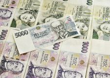 Free Czech National Currency Royalty Free Stock Images - 19566369