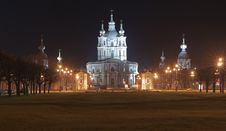 Smolny  Revivals Christ S A Cathedral Stock Photos
