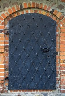 Free Old Iron Door Stock Photo - 19567040