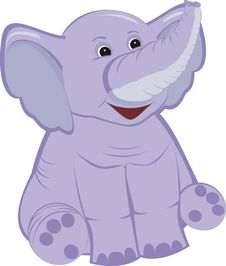 Free Lilac Elephant Stock Images - 19567204