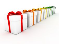 Free Gift Boxes Royalty Free Stock Image - 19567236