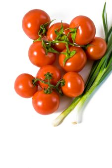 Free Wet Whole Tomatos Stock Images - 19568194