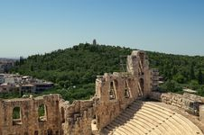 Free Theater Of Herodes Atticus Stock Photo - 19568380