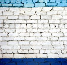 Free A White Brick Wall Royalty Free Stock Image - 19569146