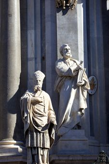 Free Statue Of St. Peter Stock Photos - 19569293
