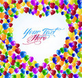 Free Heart Shape Balloons Royalty Free Stock Photography - 19575017
