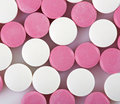 Free Pink And White Pills Stock Image - 19576171