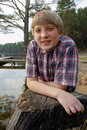 Free Boy Fishing Royalty Free Stock Images - 19577229