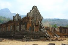Free Wat Phu Stock Image - 19570621