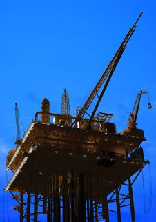 Free Oil Rig Royalty Free Stock Photography - 19570707