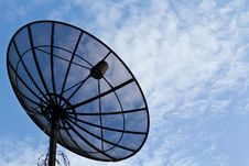 Free Satellite Dish And Blue Sky Stock Photos - 19570953