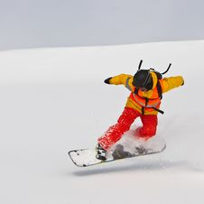 Free Snowboarder Stock Images - 19571604
