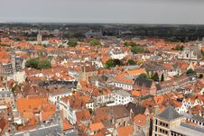 Free Bruges Panorama Stock Images - 19571834