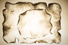 Free Burnt Old Paper Royalty Free Stock Image - 19572696