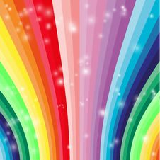 Free Abstract Colorful Waves Stock Image - 19573481