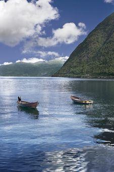 Free Norwegian Boats Stock Photography - 19573732