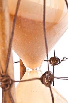 Free Antique Hourglass: Detail Royalty Free Stock Photo - 19574735