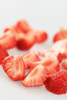 Free Strawberry Wedges Stock Photos - 19574933