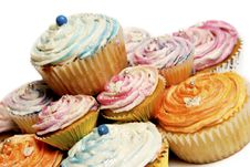 Free Colorful Cupcakes Stock Photo - 19575370