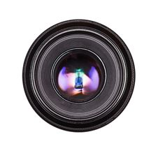 Free Black Camera Lens Isolated Royalty Free Stock Image - 19575646