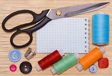 Free Sewing Accessories Stock Image - 19575941