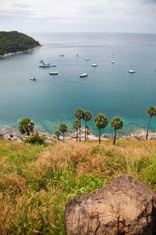 Free Bird S Eye View On Andaman Sea, Phuket Island Royalty Free Stock Photos - 19577458